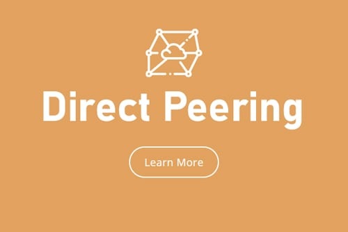 More about Direct Peering and Express Route